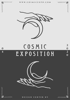 Cosmic Exposition Flyer Moon