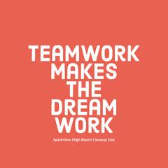 Teamwork makes the dream work  Earth