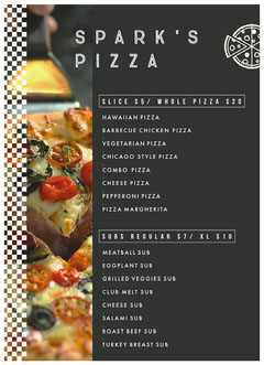 SPARK'S<BR>PIZZA Pizza