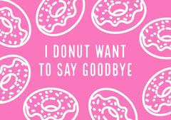 farewellcard Donut