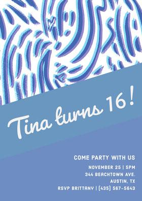 Tina turns 16!
