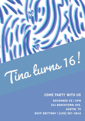 Tina turns 16!