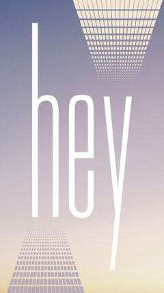 Muted Gradient Bold Animated Typography Hello