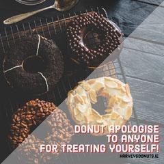 Donut Apologise Instagram Square  Donut