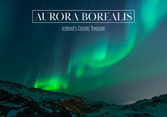 Aurora Borealis Iceland's Cosmic Treasure Postcard Travel