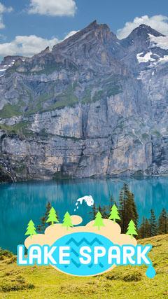 Lake and Mountains Travel Snapchat Story Lake