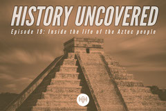 Grey and White History Uncovered Podcast History