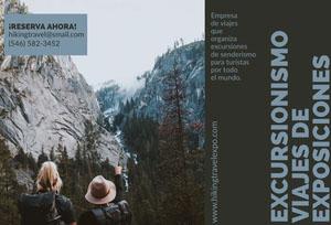 hiking expo-travel brochures  Folleto