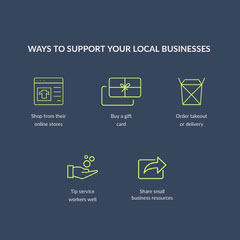 support local businesses instagram  Gift Card