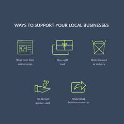 support local businesses instagram