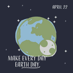 Earth Day Instagram Square Earth