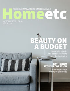 Light Toned Home Design Magazine Cover Sweet Home