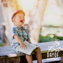 Light, Bright First Day Of Preschool Instagram Post Preschool Flyer