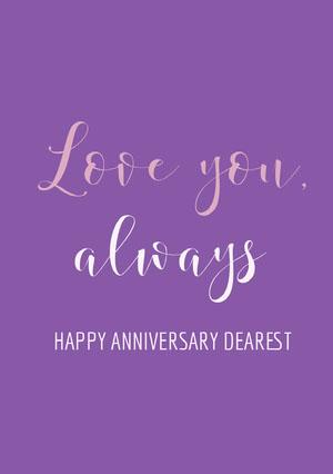 Love you, always