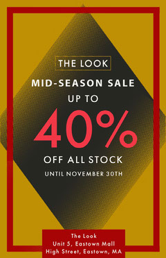 sale flyer poster  Seasonal