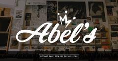Dark Toned Record Shop Ad Facebook Banner Shopping