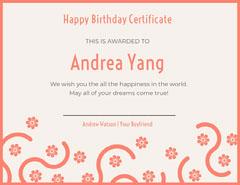 Andrea Yang  Confetti