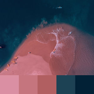 Color Palettes | Duotone & Monochromatic 9 101 Brilliant Color Combos