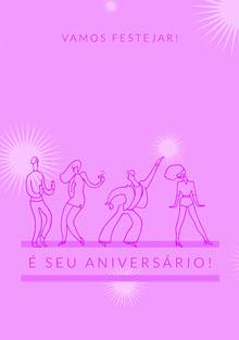 lets get this party started birthday cards  Cartão de aniversário