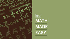 Green & Black Math Problems Youtube Thumbnail  Math
