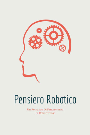 robot thinking science fiction novel book covers Copertina libro
