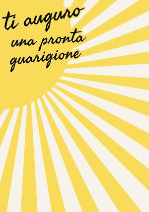 sunshine get well soon cards Biglietto d'auguri di pronta guarigione