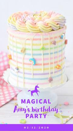Girl Birthday Snapchat Geofilter Cakes