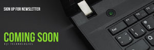 Black Laptop Horizontal Ad Banner Banner