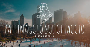 ice skating outdoor rink banner ads Annunci su Facebook