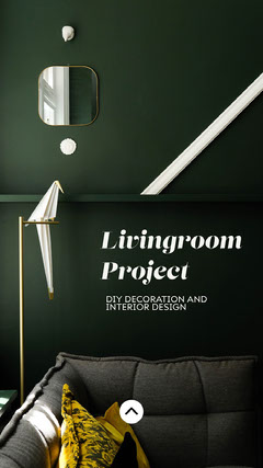 interior design instagram story Decor