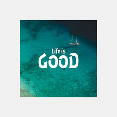Life is Good IG Square Ocean