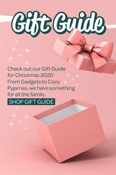 Pink & Green Gift Guide Digital Newsletter Pinterest Guide
