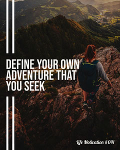Hiking Adventure Life Motivation IG Portrait Hike
