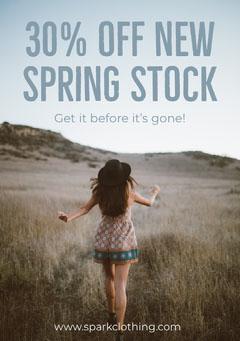 Spring Stock Instagram Portrait Spring