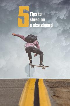 5 Skateboarding Tips Pinterest Guide
