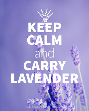 Purple Keep Calm and Carry Lavender Instagram Portrait Meme Meme