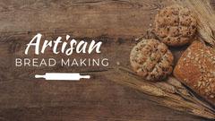Artisan Bread Making Youtube Thumbnail Tutorial