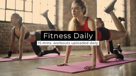 Fitness Daily  Banner para YouTube