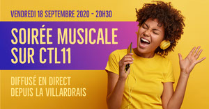 Yellow Singer Live Musical Night Facebbook Post  Annonce Facebook