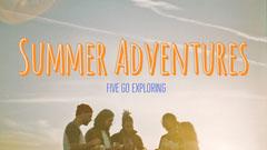 Orange Summer Travel and Tourism Youtube Thumbnail Adventure