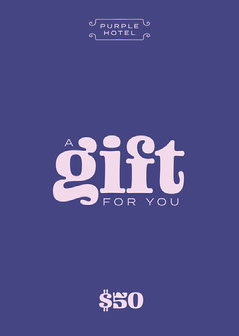 Purple and Pink, Hotel Gift Card  Hotels