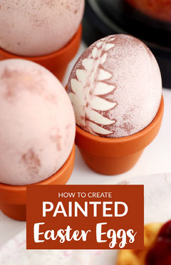 Brown and White Painted Easter Eggs Pinterest Post Easter