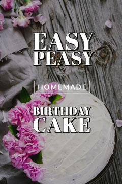 easy<BR>peasy Cakes