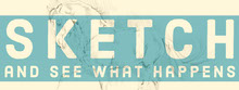 Blue and White Sentence Banner Facebook-Titelbild