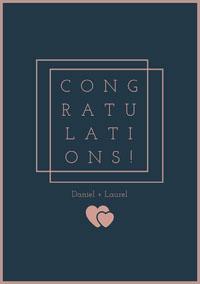 CONG<BR>RATU<BR>LATI<BR>ONS! Wedding Congratulations