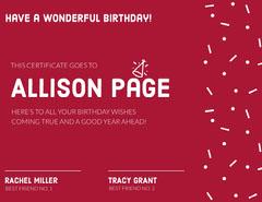 Allison Page  Confetti