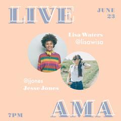 live AMA Instagram square Stream