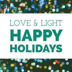 Bokeh Defocused Christmas Lights Instagram Graphic Christmas