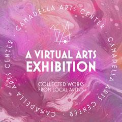 Pink Virtual Art Exhibition Instagram Square Museum