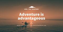 Adventure Business Facebook post Adventure